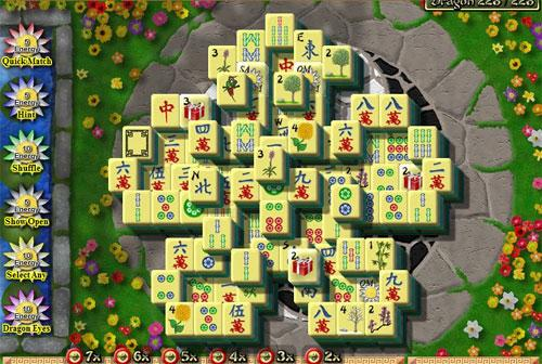 Pattern in Dragon King Mahjong