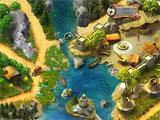Lost Island: Mahjong Adventure map