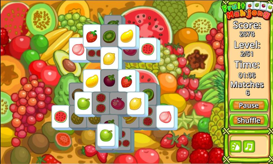 Mahjong Fruit
