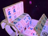 Challenging 3D mahjong layouts in Mahjong Deluxe 2
