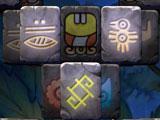 Doubleside Mahjong Amazonka Hieroglyphs