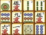 Mahjong Connect 3 Balls and Bamboo Tiles