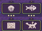 Fishjong level selection menu