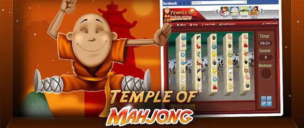 Mahjong Temple - Velocidade, estratégia e simplicidade – desfruta de Mahjong!