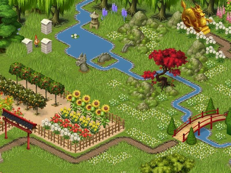 create your own garden in mahjong garden - Garden Design Game