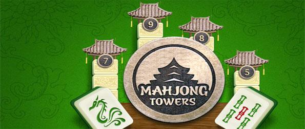 Towers Mahjong - Play this classic and beautiful Mahjong Game on Facebook and build your own tower.