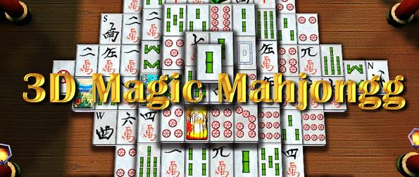 3D Magic Mahjongg - Play a wonderful 3D Mahjong game with extensive customization features to setup your game in this brilliant mahjong title from Big Fish Games.