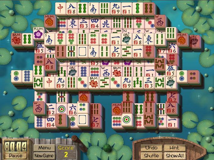 mahjong garden game