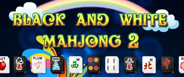 Black and White Mahjong 2 - Set the course for a wonderful Mahjong experience – housing free challenging levels to beat.