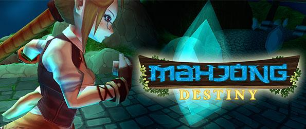 Mahjong Destiny - Fixate onto the story of a young woman in search of her true love, as you scour the puzzles and beat them to progress in this interesting Mahjong game.