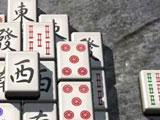 Beautiful 3D tiles in Zen Garden Mahjong