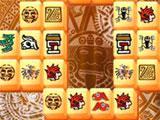 Matching Tiles in Aztec Mahjong