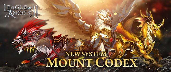 League of Angels 2 Releases Mount Codex System