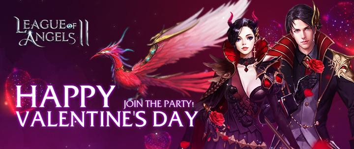League of Angels 2: Romantic Valentine's Day Party