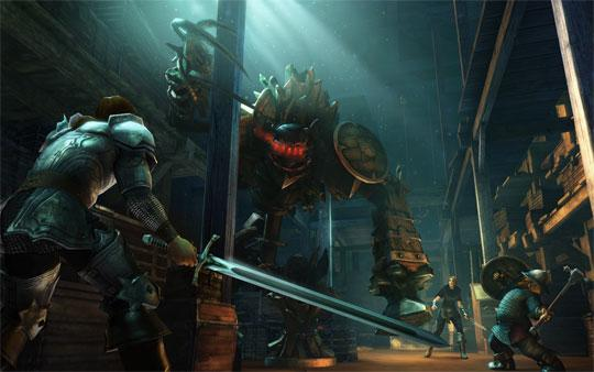 Work Together to Defeat Mighty Foes in Drakensang Online