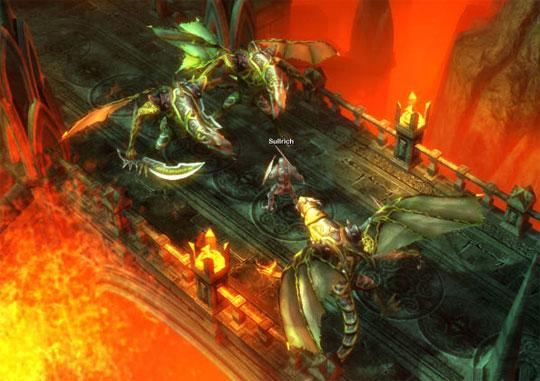 Battle Mighty Dragons in Drakensang Online