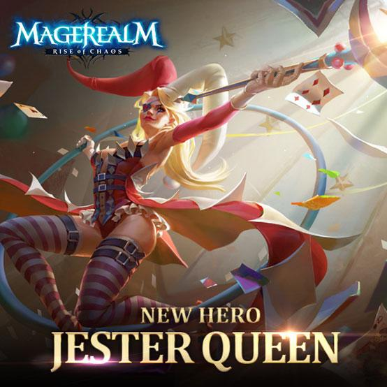 New Hero in Magerealm: Jester Queen