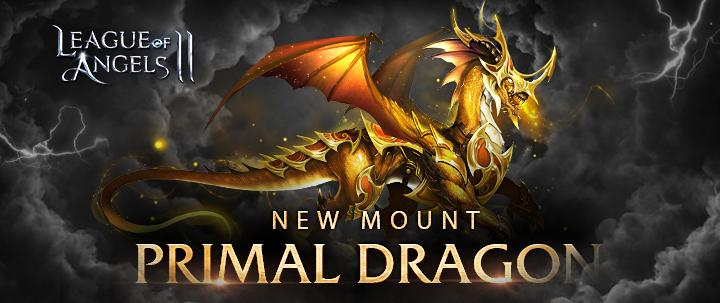 New Primal Dragon Mount in League of Angels 2