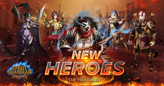 New Heroes Arrived in Spirit Guardian: Vanguard Rush