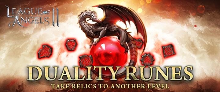 League of Angels 2: Empower Your Relics with Duality Runes
