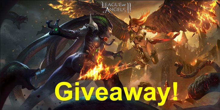 Limited Time Giveaway for League of Angels 2