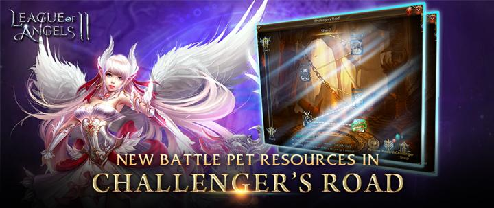 League of Angels 2: Take On the Challenger's Road to Earn New Battle Pet Resources