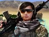Lady soldier in Mobile Strike