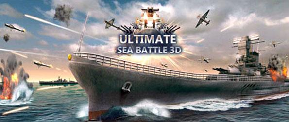 Sea Battle: Warship 3D - Engage in a battle on the seas in Sea Battle: Warship 3D.