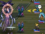 Fighting a boss in Final Fantasy Record Keeper