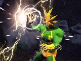 Marvel Heroes Battling Electro