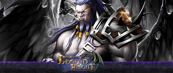 Legend Knight - Save the world once more as you drive back the evil bring chaos to your realm.