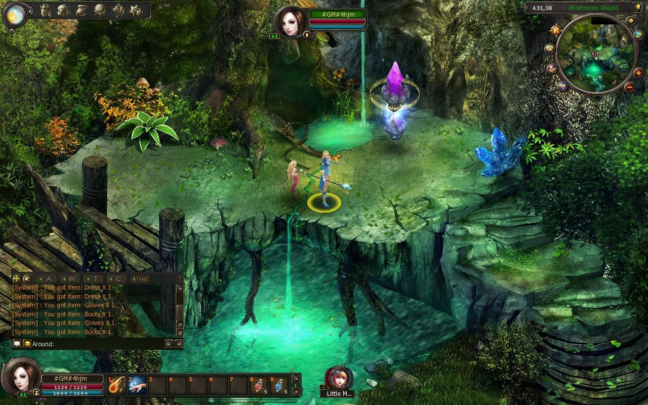 Gameplay For Dragon Heart Online