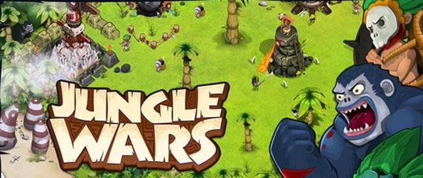 Jungle Wars - Create your own city and protect it against enemies.