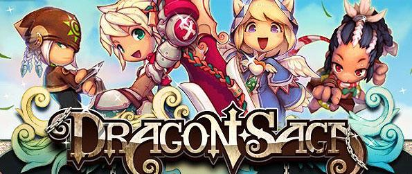 Dragon Saga - Fight against the evil forces of the dark dragon Elga to reclaim peace and rise to become the new savior of the land.