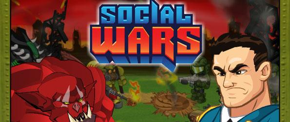 Social Wars Game - Join the exhilarating battles between humans, robots and evil orcs in this online strategy game.