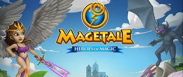Magetale - Enter a unique MMORPG - filled with being instanced team-death matches, arcade style, to promote a relatively new take onto the world of battle arenas and fighter building.