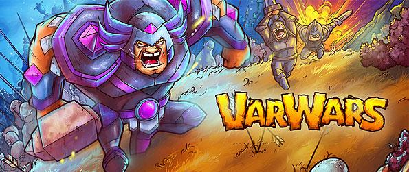 Varwars - Join the eccentric wars of the medieval ages between empires in this exhilarating real time strategy game in Facebook.