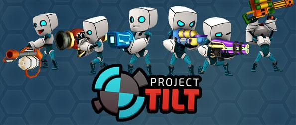 Project Tilt - Enjoy jetting through the air while twisting and turning to fire off shots like some super cool hero in Project Tilt today!