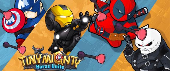 Tiny Mighty - Battle your way to victory with pint sized superheroes.