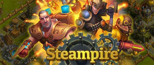Steampire - Build an army to take on the more powerful Empire that has enslaved Aestus.