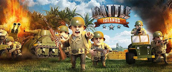 Battle Islands - Wage peer-based battles across the network and overwhelm your enemies to rule the pacific in this great MMORTS war-game.