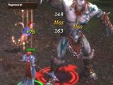 Fighting a side boss in War of the Immortals