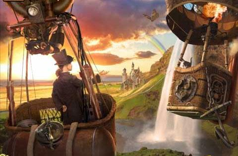 Balloon Ride in Voyage to Fantasy