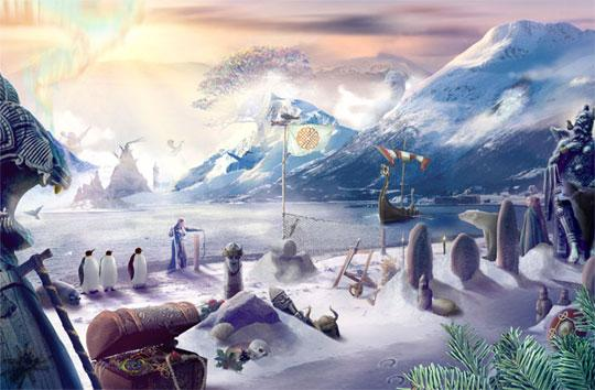 Journals Of The Unknown Frozen Tundra