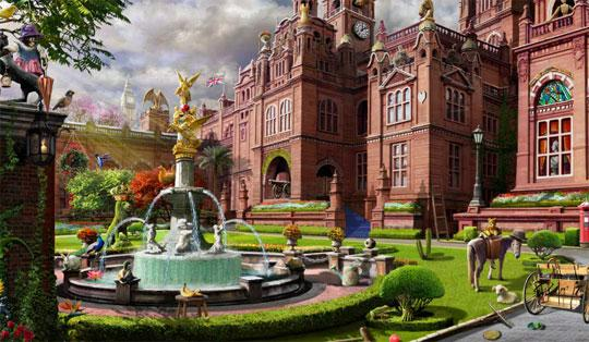 The Manor House in Gardens of Time