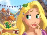 Tangled-themed scene in Disney Find 'n Seek
