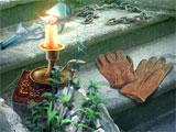 Darkness and Flame: Missing Memories Collector's Edition Candle and Gloves