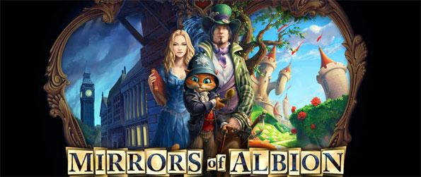 Mirrors of Albion - Alice in Wonderland meets Victorian London in this lovely Facebook Hidden Object Game.