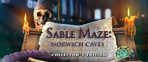 Sable Maze: Norwich Caves - Embark on an exciting adventure through the maze discovered under Norwich Caves University