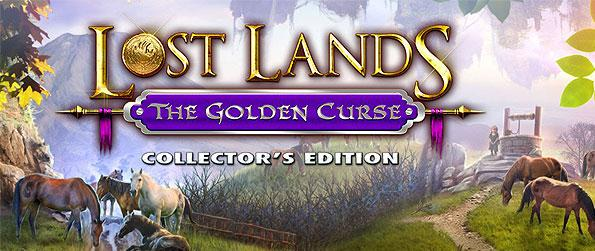 Lost Lands: The Golden Curse - Take on a mission to save the world by joining the mage Maaron to vanquish all the demons who are attacking the village.